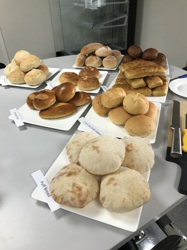 Bread Presenation Various