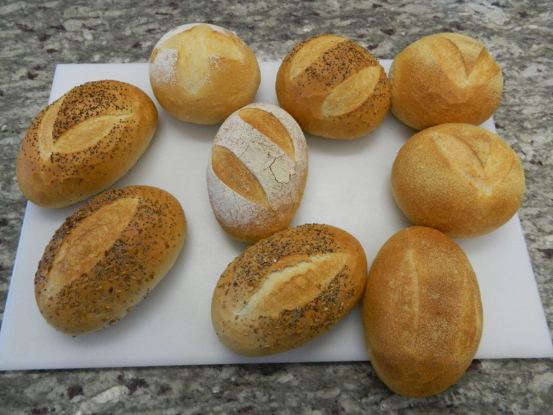 Sour Dough, with Different Toppings